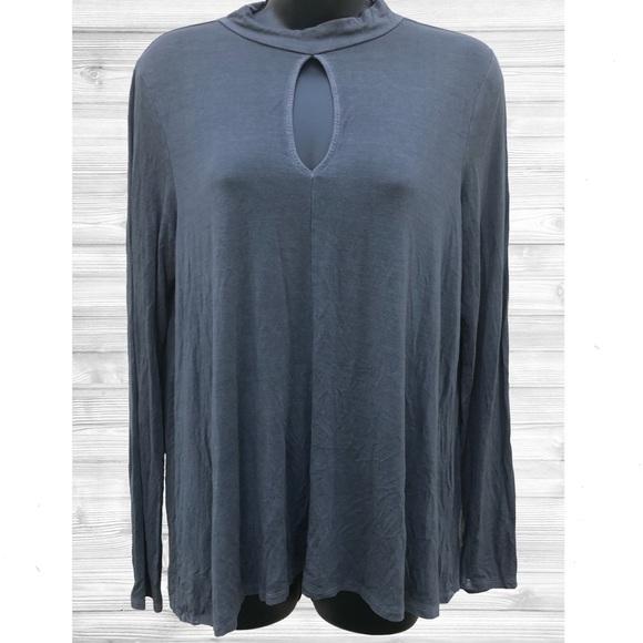 🌸2/$20🌸 AEO Soft & Sexy | LS Gray Shirt | Large